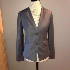 Gray 2 Button Gap Blazer Size 2